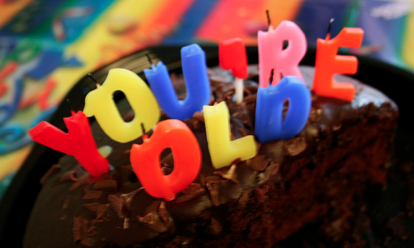 funny You're Old Birthday Cake